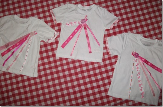 Ribbon T-shirts for Girls, June 2014 003