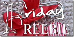 blog friday freebie
