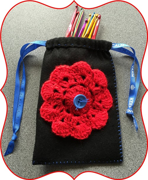 hello wednesday crochet bag