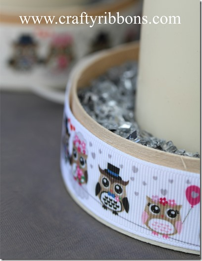 wedding owls candles